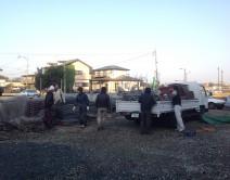 自社所有架設足場:熊本市東区戸島西2丁目の写真