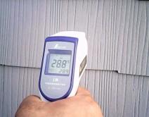 ガイナ 測定温度テストの写真