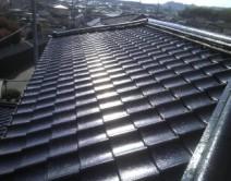 建造物を、10年先、20年先まで美しく!!   合志市須屋  K様邸   屋根:プレミアム無機フッ素樹脂・ブラック施工です。の写真