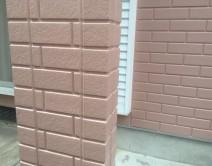 外壁の旧コーキング打ち替え施工の写真