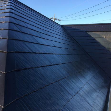 屋根:プレミアムルーフSi・ラジカル塗料!邸のAfter(施工後)の様子