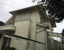 ラジカル塗料:プレミアムシリコンSR-175仕様邸のBefore(施工前)の様子