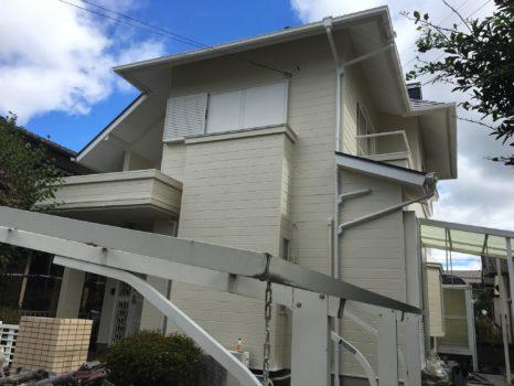 ラジカル塗料:プレミアムシリコンSR-175仕様邸のAfter(施工後)の様子