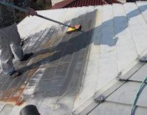 太陽温水器の撤去作業!の写真