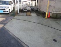 土間・駐車場土間・ブロック面・その他:高圧洗浄施工の写真
