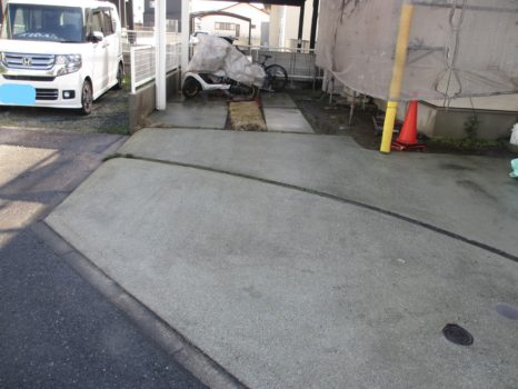 土間・駐車場土間・ブロック面・その他:高圧洗浄施工邸のAfter(施工後)の様子