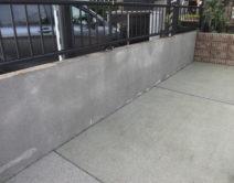 外部:土間・基礎部・スロープ・ブロック塀(化粧)・駐車場・その他1式・高圧洗浄の写真