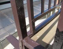 ベランダ:補強施工の写真