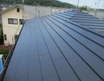 屋根:プレミアムルーフSi樹脂ラジカル塗料の写真
