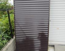 プレミアム無機4フッ化フッ素樹脂!雨戸の施工の写真