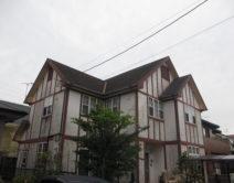 ガイナ 特殊セラミック配合:屋根・断熱遮熱塗料邸のBefore(施工前)の様子