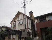 屋根・外壁・煙突部:プレミアム無機4フッ化フッ素樹脂クリアー仕上げ施工邸のBefore(施工前)の様子