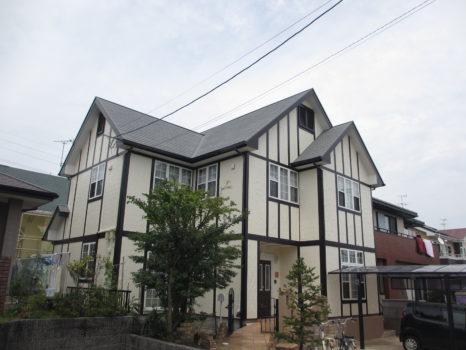 ガイナ 特殊セラミック配合:屋根・断熱遮熱塗料邸のAfter(施工後)の様子