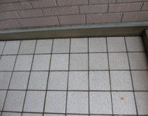 タイル床面:専用薬剤洗い!の写真