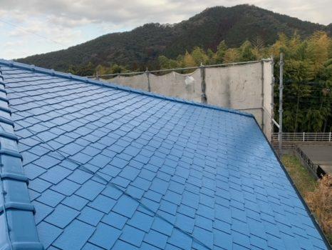 ラジカル塗料:プレミアムルーフSi邸のAfter(施工後)の様子