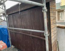 高性能木材保護塗料・キシラデコール#110オリーブ邸のBefore(施工前)の様子