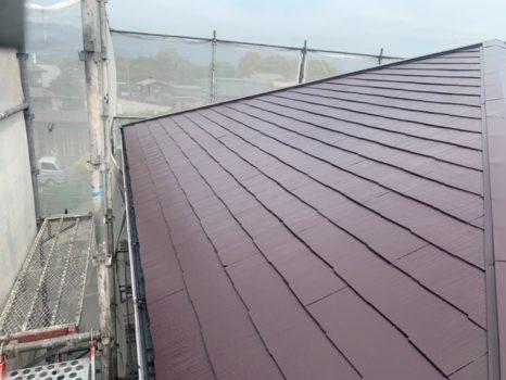 遮熱塗料:プレミアム無機4フッ化フッ素樹脂SC-39仕様邸のAfter(施工後)の様子