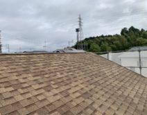 屋根・水性シングサーフRC-112施工邸のBefore(施工前)の様子