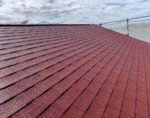 屋根・水性シングサーフRC-112施工の写真