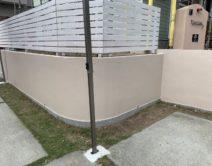 駐車場・ブロック塀(塗装面)の施工の写真
